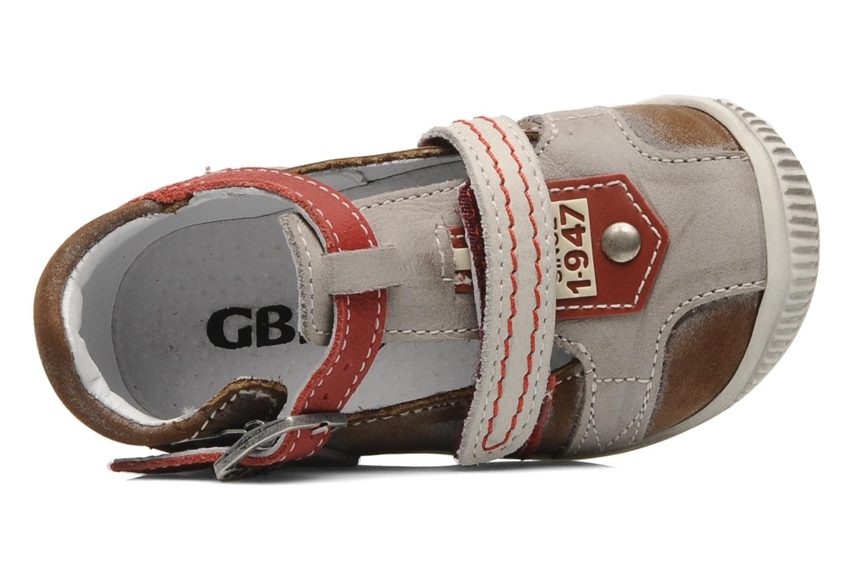 Stiefeletten & Boots GBB Bernie grau ansicht von links