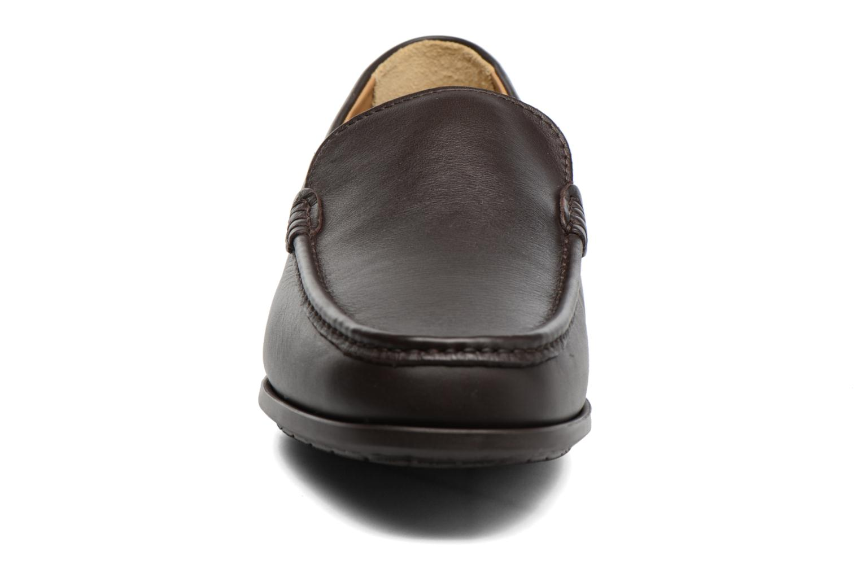 Mocassins Sledgers Morris Marron vue portées chaussures