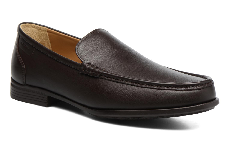 Loafers Sledgers Morris Brun detaljeret billede af skoene