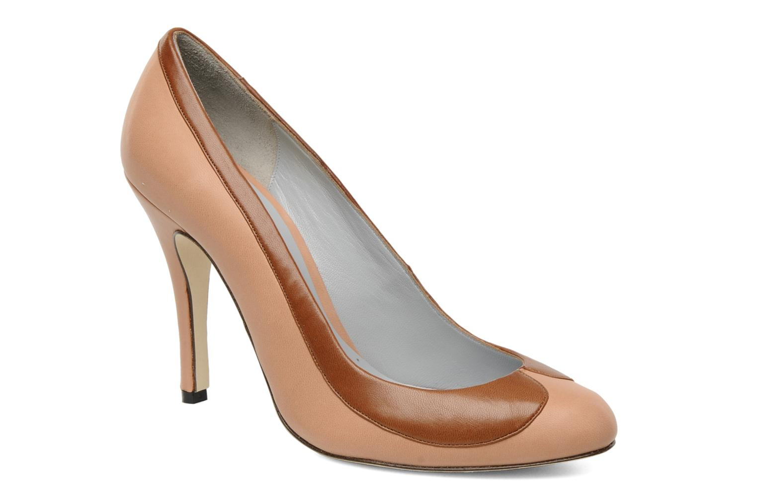 Pumps Fred Marzo Claudine rosa detaillierte ansicht/modell