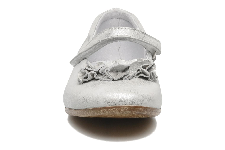 Ballerines Ramdam by GBB Bilbao Argent vue portées chaussures
