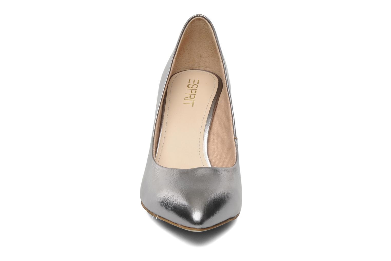 Escarpins Esprit Diana Metallic Pump Argent vue portées chaussures