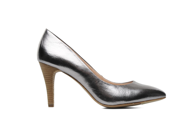 Zapatos de tacón Esprit Diana Metallic Pump Plateado vistra trasera