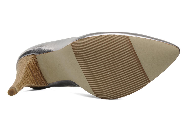 Zapatos de tacón Esprit Diana Metallic Pump Plateado vista de arriba