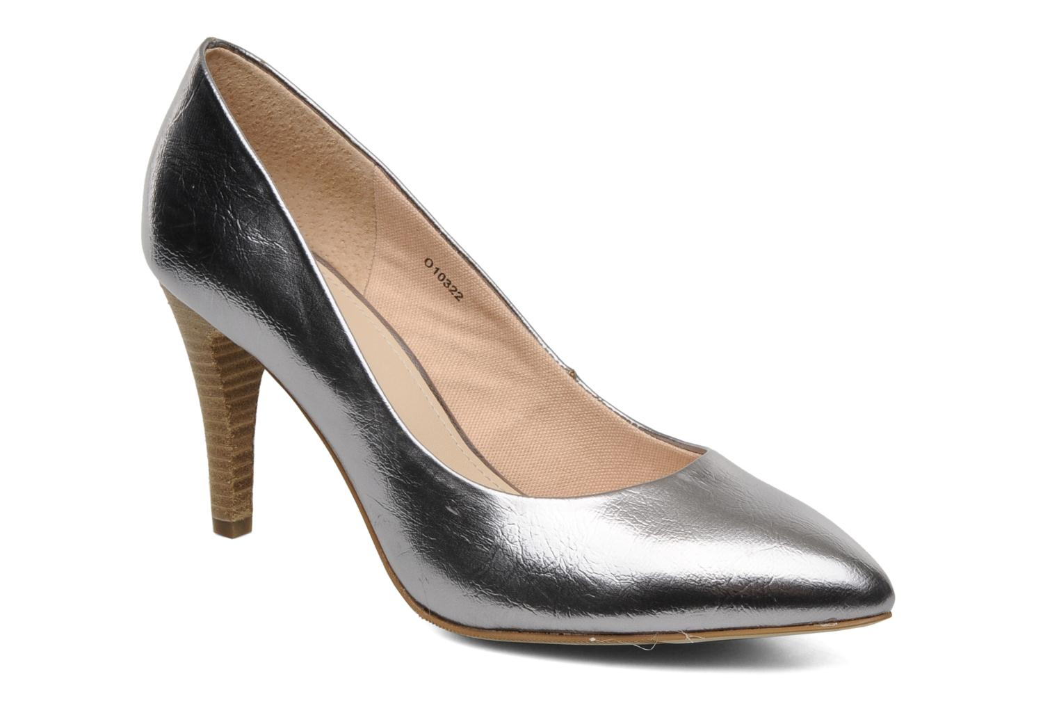 Diana Metallic Pump Silver