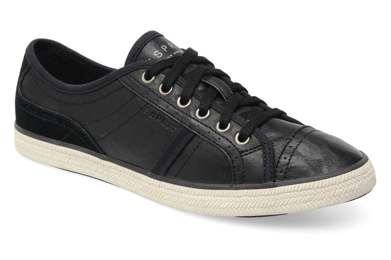 89c9e4e941a1bd Sneaker Esprit Megan Lace Up schwarz detaillierte ansicht modell