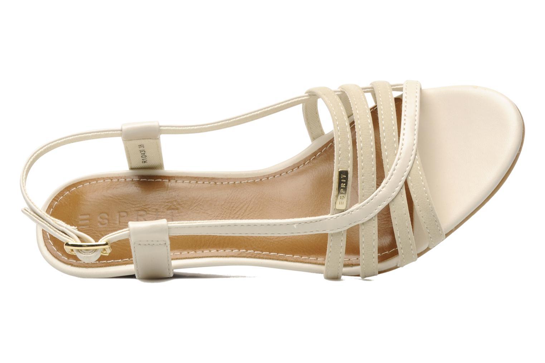 Sandali e scarpe aperte Esprit Rosia Sling Beige immagine sinistra