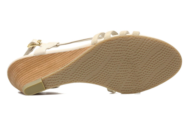 Sandali e scarpe aperte Esprit Rosia Sling Beige immagine dall'alto