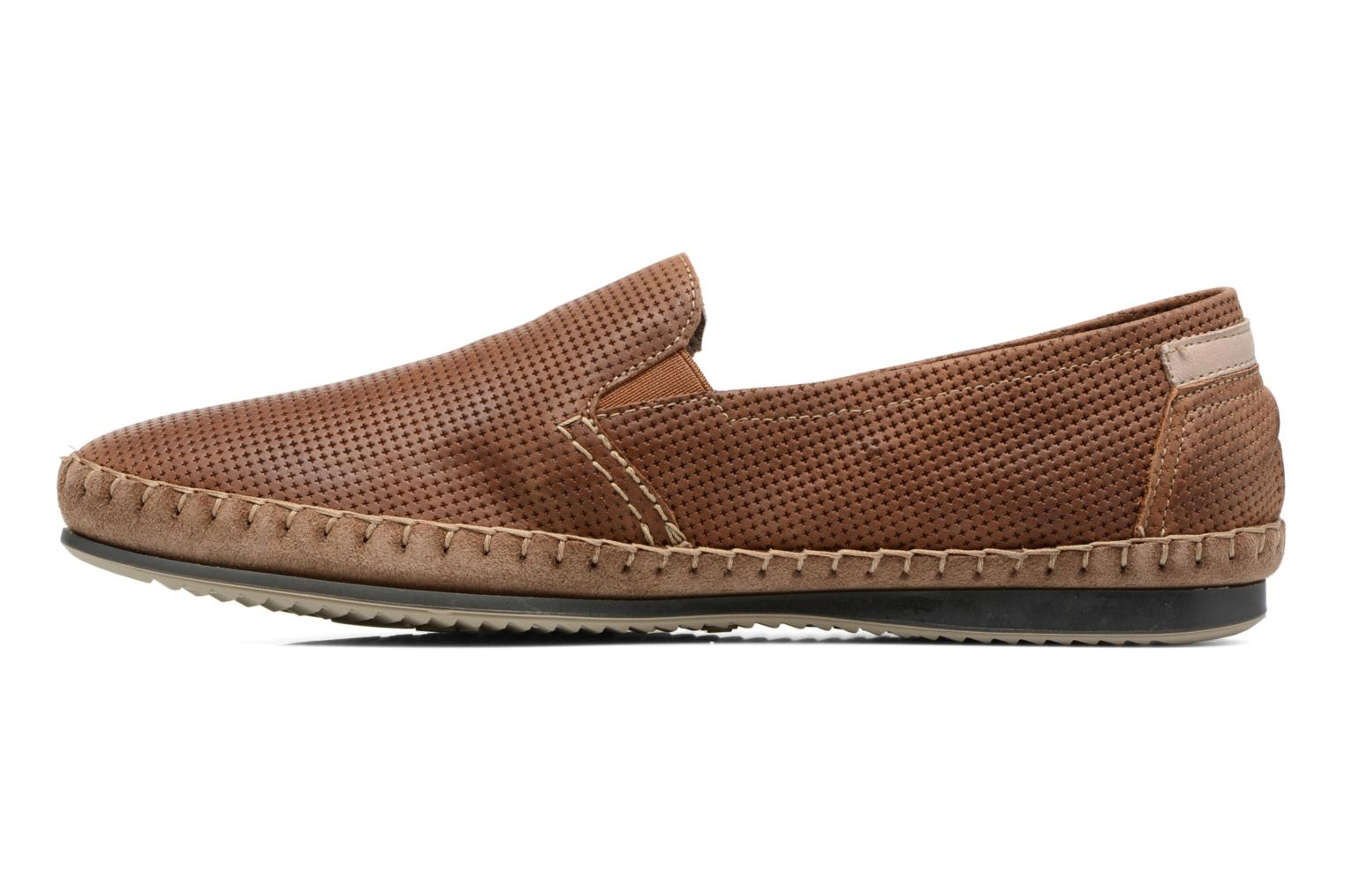 Loafers Fluchos Bahamas 8674 Brown front view