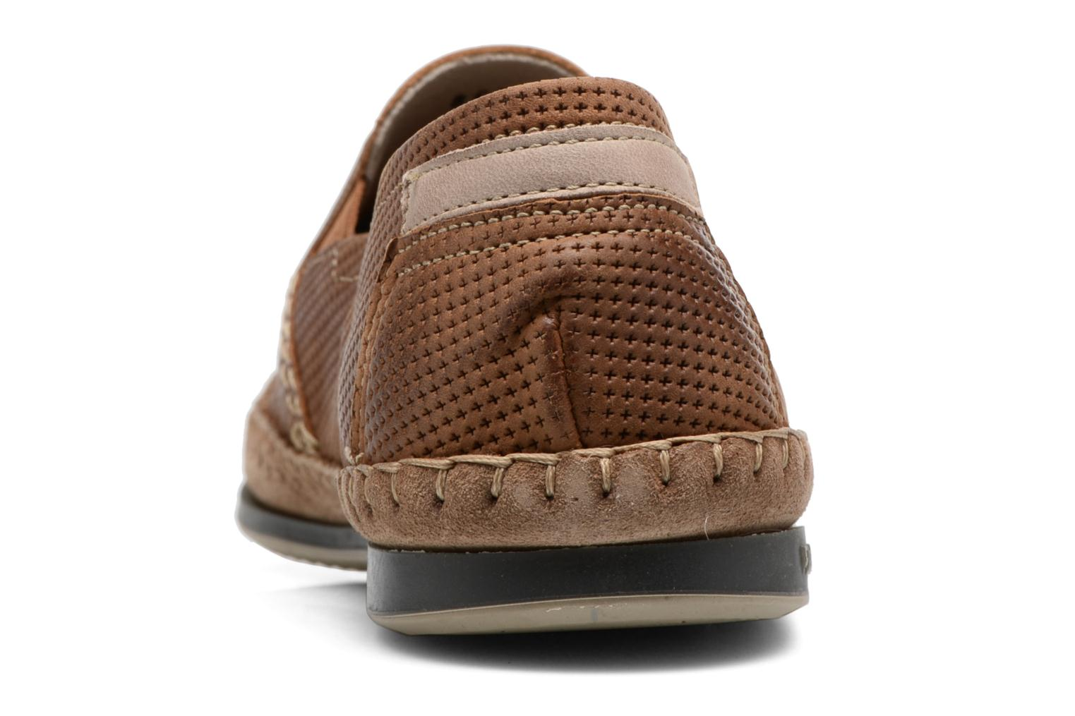 Loafers Fluchos Bahamas 8674 Brown view from the right