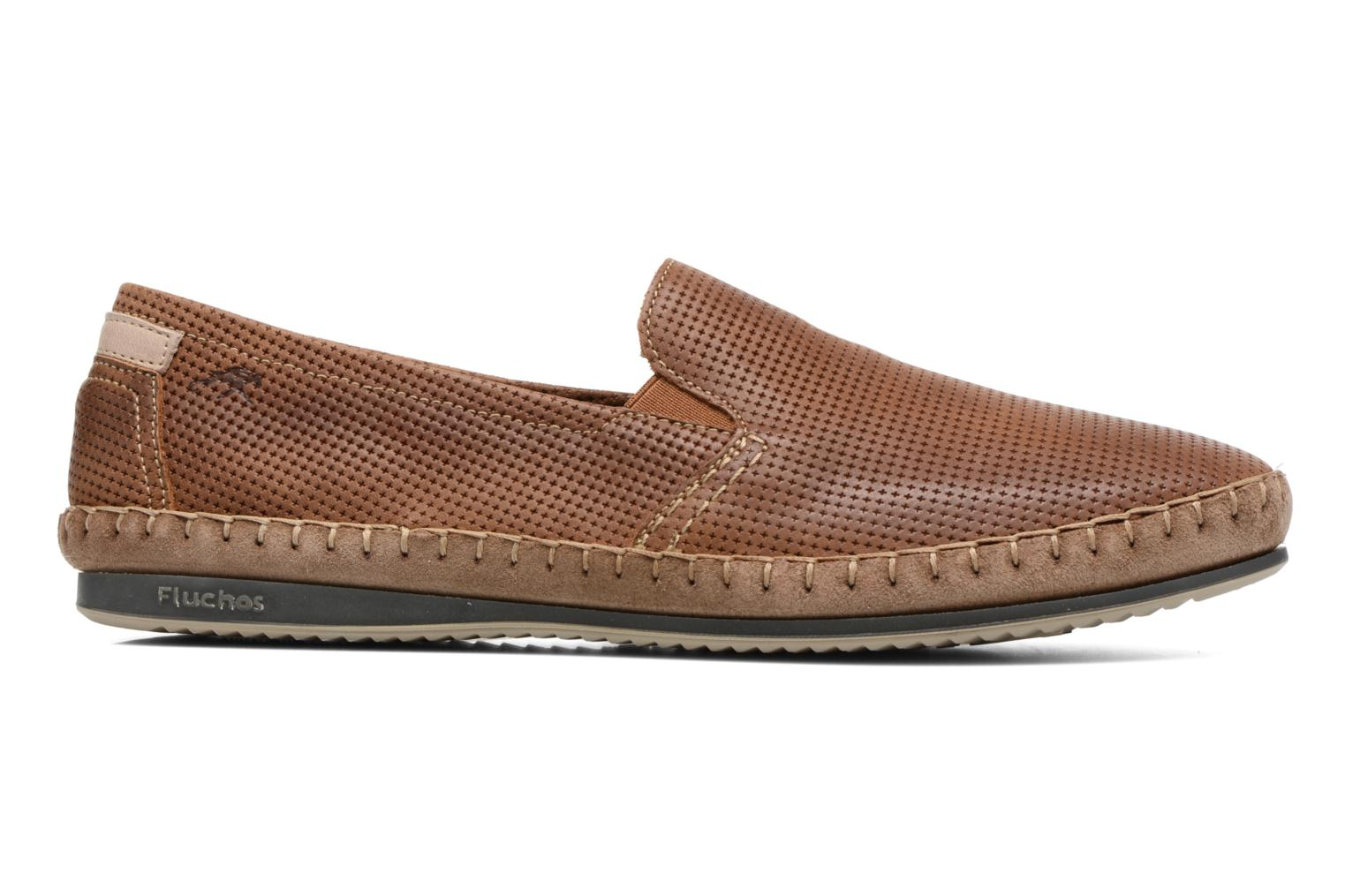 Loafers Fluchos Bahamas 8674 Brown back view