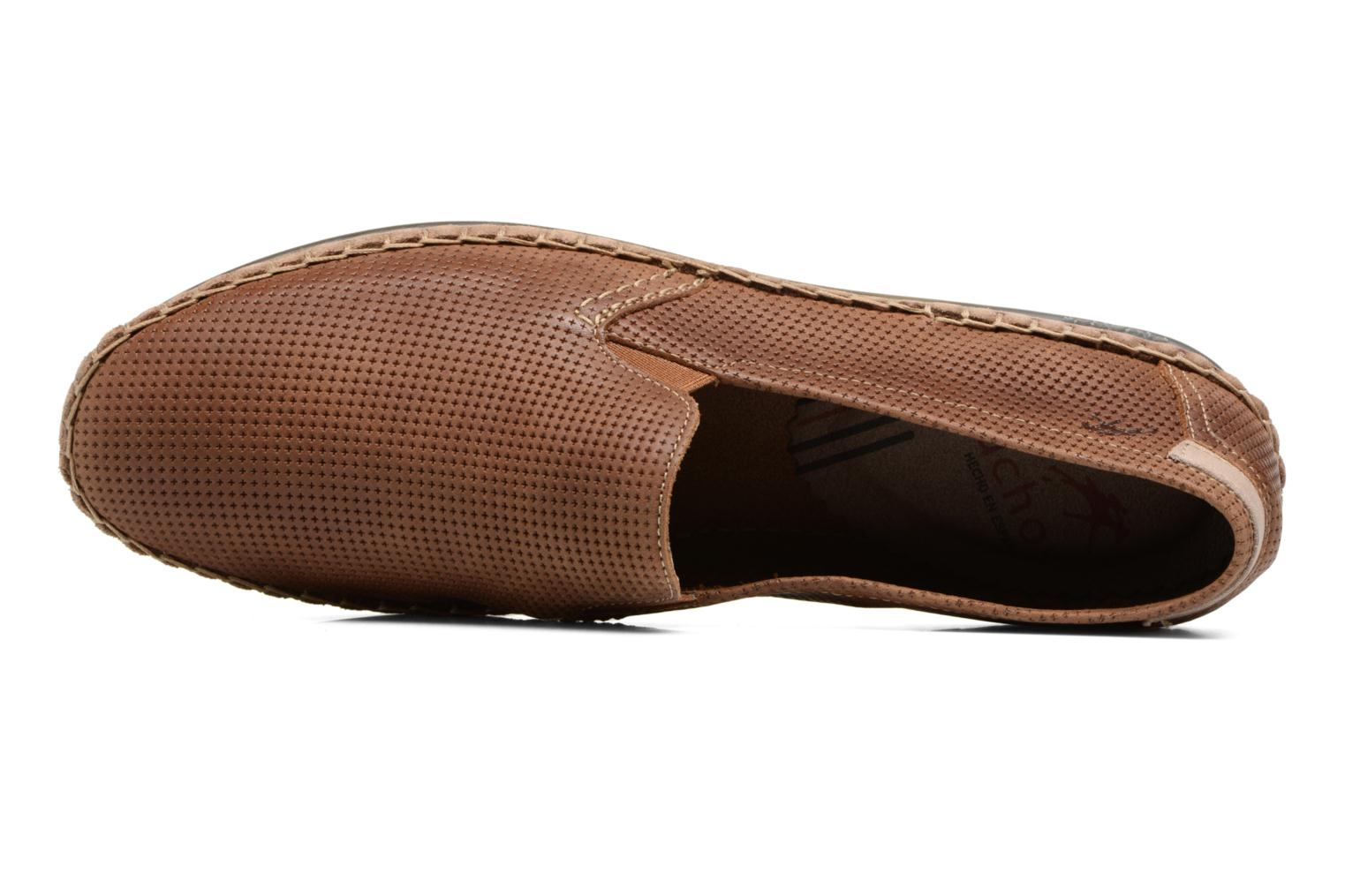 Loafers Fluchos Bahamas 8674 Brown view from the left