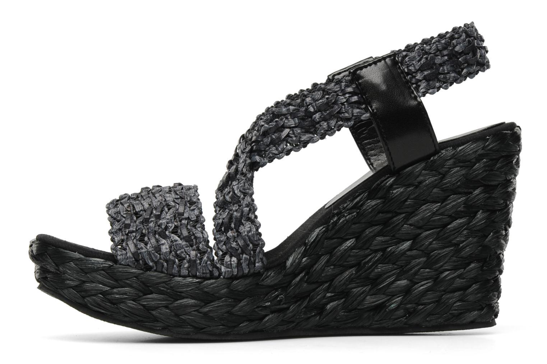 Sandalen Elizabeth Stuart Fuxy 310 schwarz ansicht von vorne