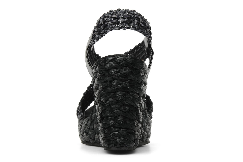 Sandales et nu-pieds Elizabeth Stuart Fuxy 310 Noir vue droite