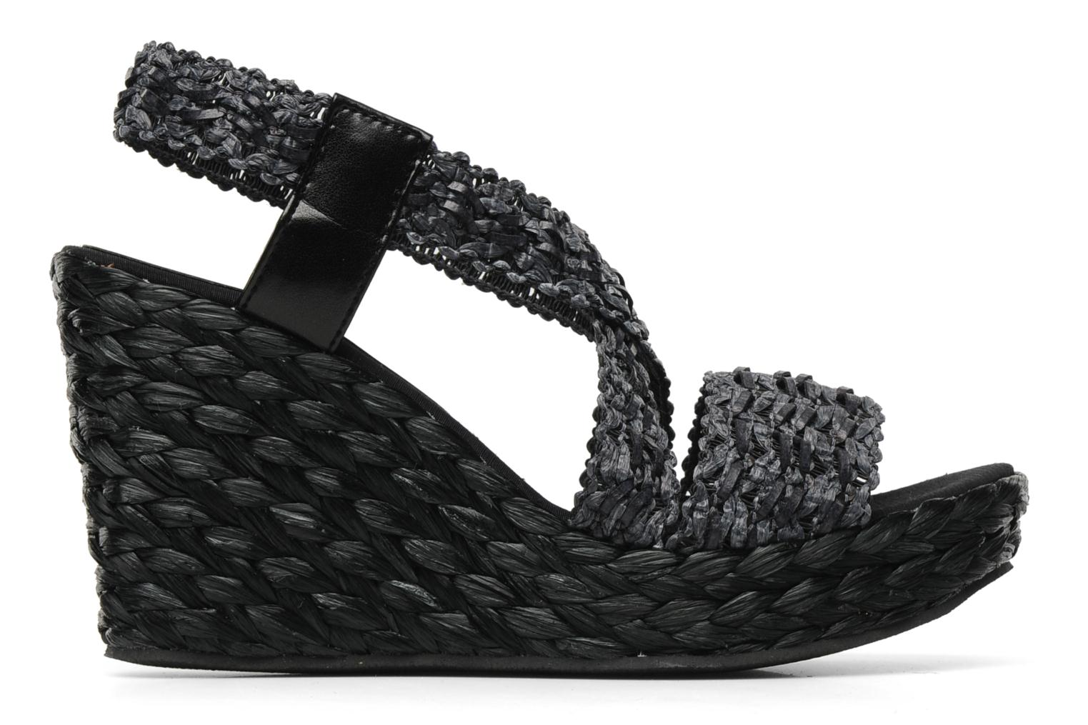 Sandals Elizabeth Stuart Fuxy 310 Black back view