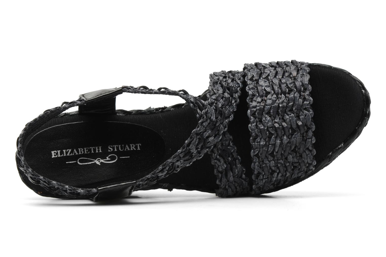 Sandalen Elizabeth Stuart Fuxy 310 schwarz ansicht von links