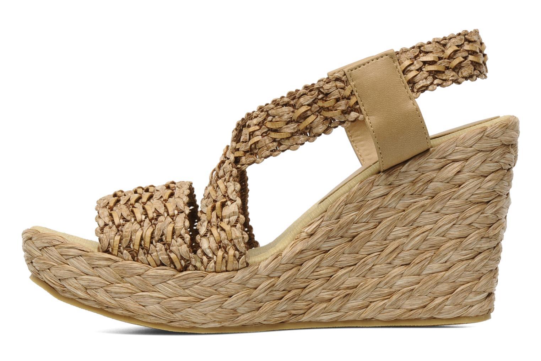 Sandales et nu-pieds Elizabeth Stuart Fuxy 310 Beige vue face
