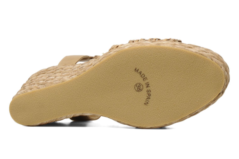 Sandali e scarpe aperte Elizabeth Stuart Fuxy 310 Beige immagine dall'alto