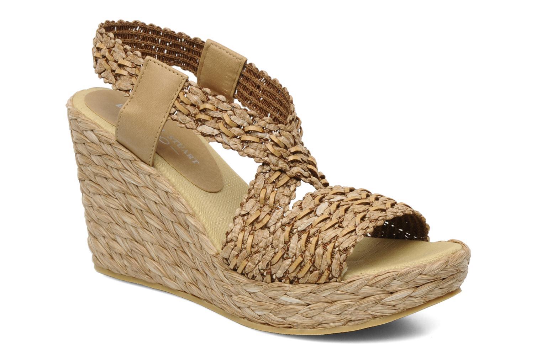 Sandales et nu-pieds Elizabeth Stuart Fuxy 310 Beige vue détail/paire