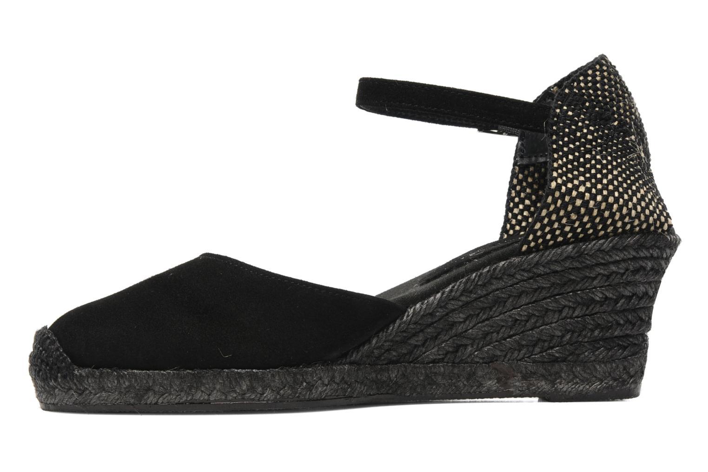 Sandales et nu-pieds Elizabeth Stuart Volga 630 Noir vue face