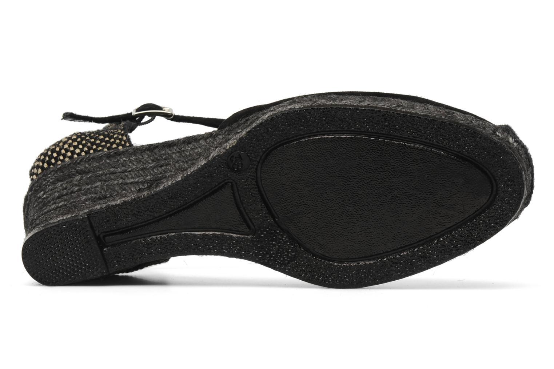 Sandales et nu-pieds Elizabeth Stuart Volga 630 Noir vue haut