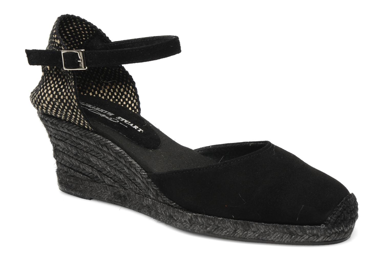 Sandals Elizabeth Stuart Volga 630 Black detailed view/ Pair view
