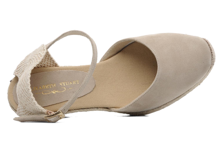 Sandales et nu-pieds Elizabeth Stuart Volga 630 Beige vue gauche