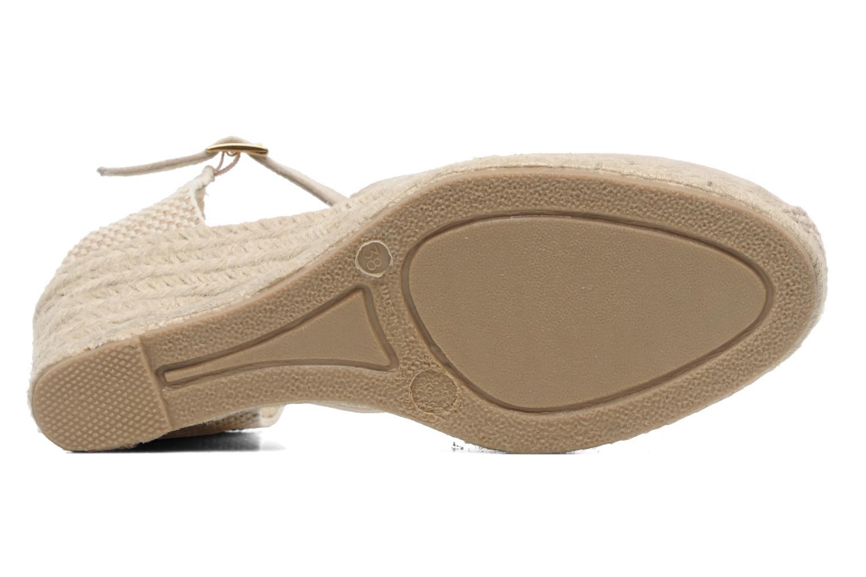 Sandali e scarpe aperte Elizabeth Stuart Volga 630 Beige immagine dall'alto