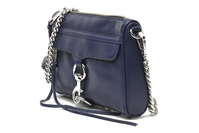 Handtaschen Rebecca Minkoff Mini MAC blau schuhe getragen