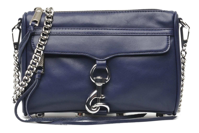 Bolsos de mano Rebecca Minkoff Mini MAC Azul vista de detalle / par