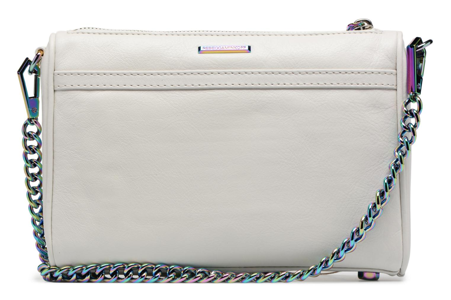 Sacs à main Rebecca Minkoff Mini MAC Blanc vue face