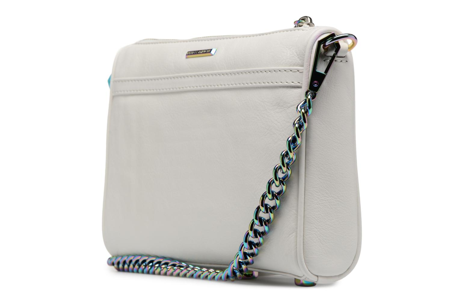 Handbags Rebecca Minkoff Mini MAC White view from the right
