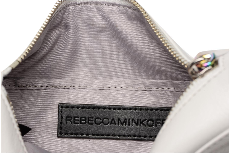 Borse Rebecca Minkoff Mini MAC Bianco immagine posteriore