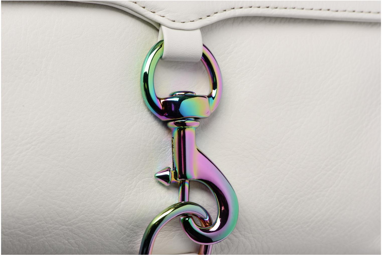 Handtaschen Rebecca Minkoff Mini MAC weiß ansicht von links