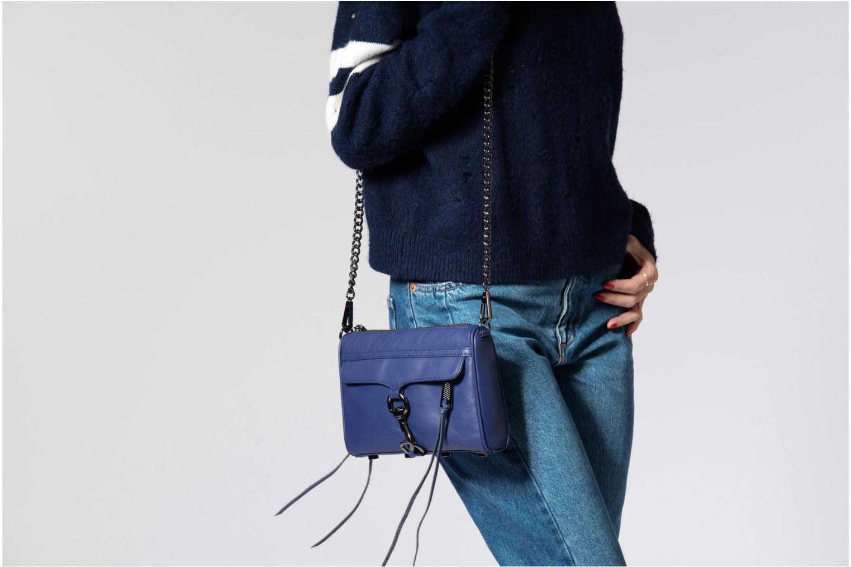Handtaschen Rebecca Minkoff Mini MAC weiß ansicht von oben