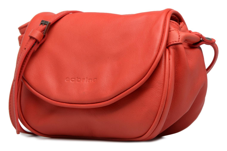 Handtaschen Sabrina Alice rot schuhe getragen