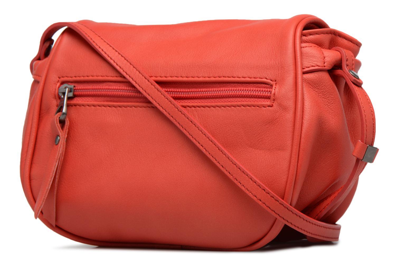 Handtaschen Sabrina Alice rot ansicht von rechts