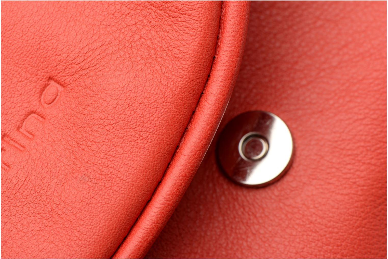 Handtaschen Sabrina Alice rot ansicht von links