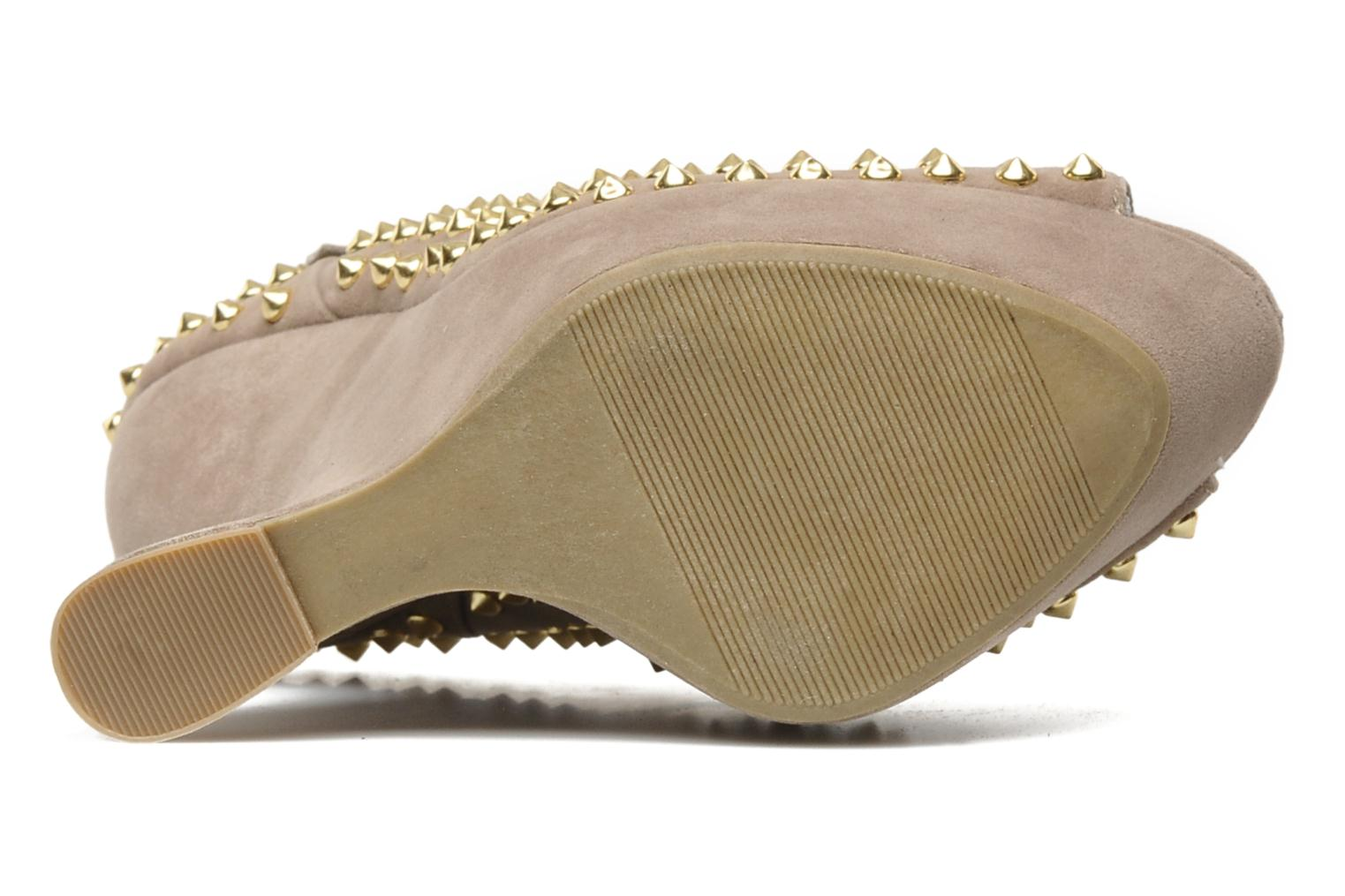High heels Steve Madden GAMMBLEE Beige view from above