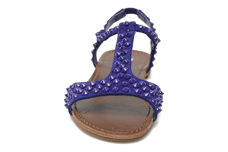 Sandales et nu-pieds Steve Madden NICKIEE Violet vue portées chaussures