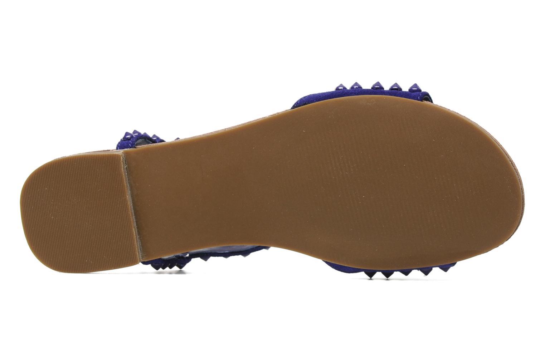 Sandales et nu-pieds Steve Madden NICKIEE Violet vue haut