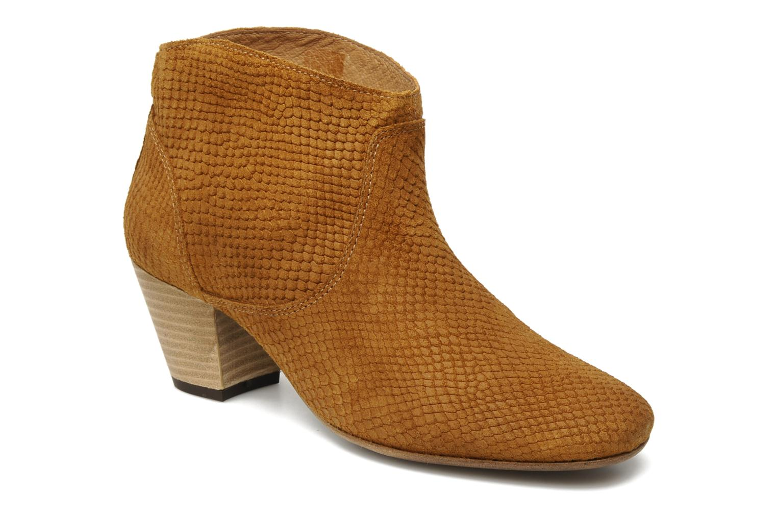 Ankle boots H by Hudson MIRAR Brown detailed view/ Pair view