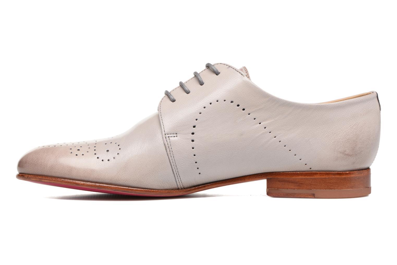 Zapatos con cordones Melvin & Hamilton Sally 1 Beige vista de frente