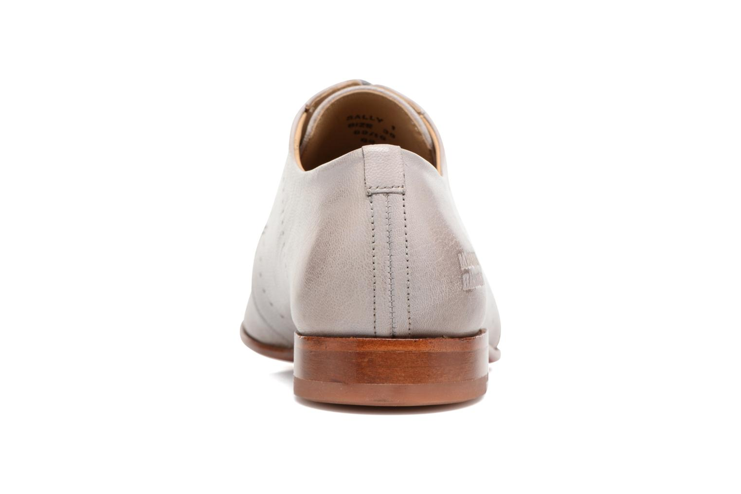 Lace-up shoes Melvin & Hamilton Sally 1 Beige view from the right