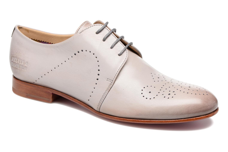 Zapatos con cordones Melvin & Hamilton Sally 1 Beige vista de detalle / par