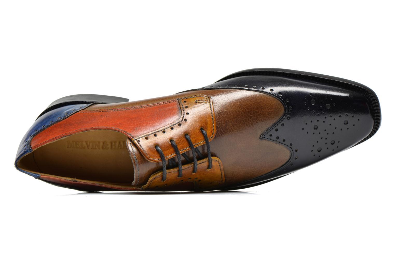 Zapatos con cordones Melvin & Hamilton Jeff 14 Multicolor vista lateral izquierda