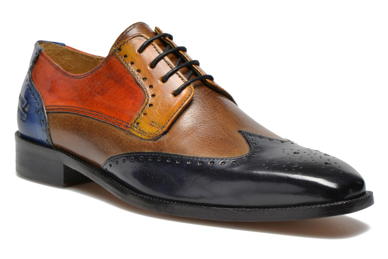 Lace-up shoes Melvin & Hamilton Jeff 14 Multicolor detailed view/ Pair view