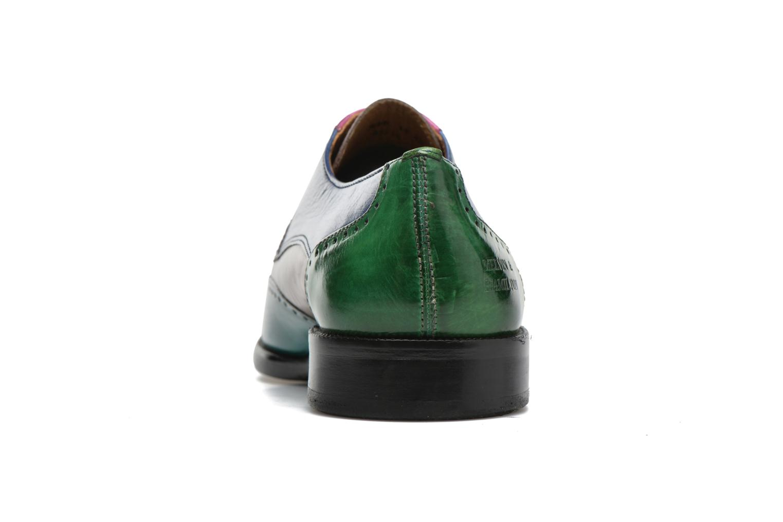 Zapatos con cordones Melvin & Hamilton Jeff 14 Multicolor vista lateral derecha