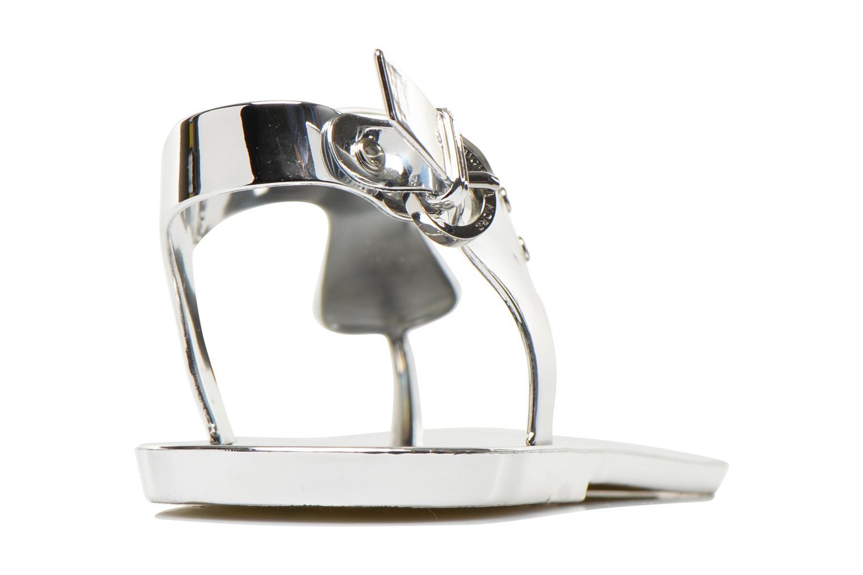Sandaler Michael Michael Kors MK Plate Jelly Sølv Se fra højre