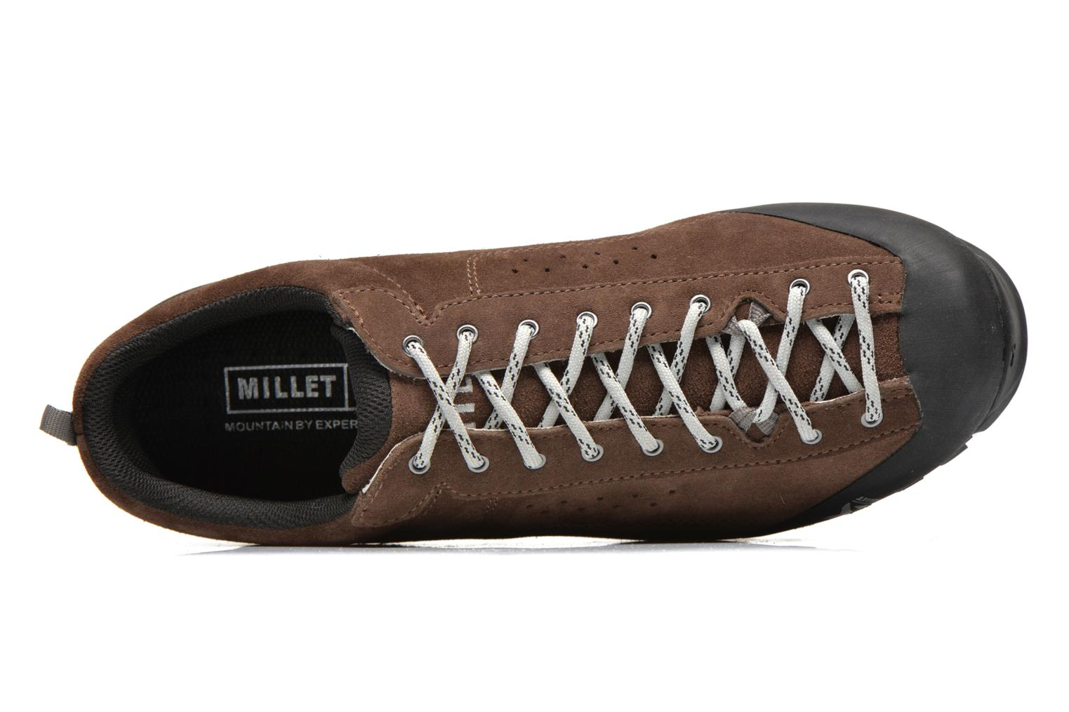 Sport shoes Millet Friction Brown view from the left
